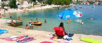 Пляж Raсice Beach в Рогознице
