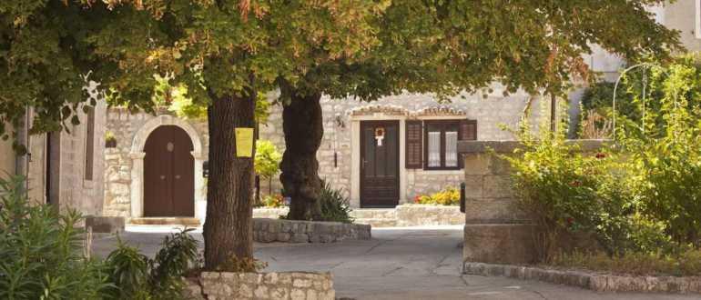 Дворец Епископа в городе Црес
