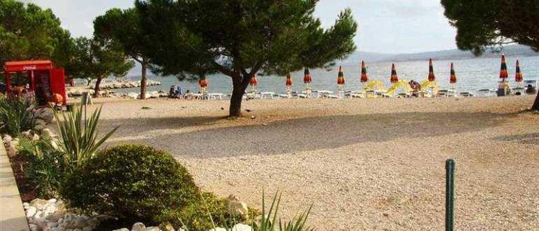 Пляж Balustrada в Цриквенице