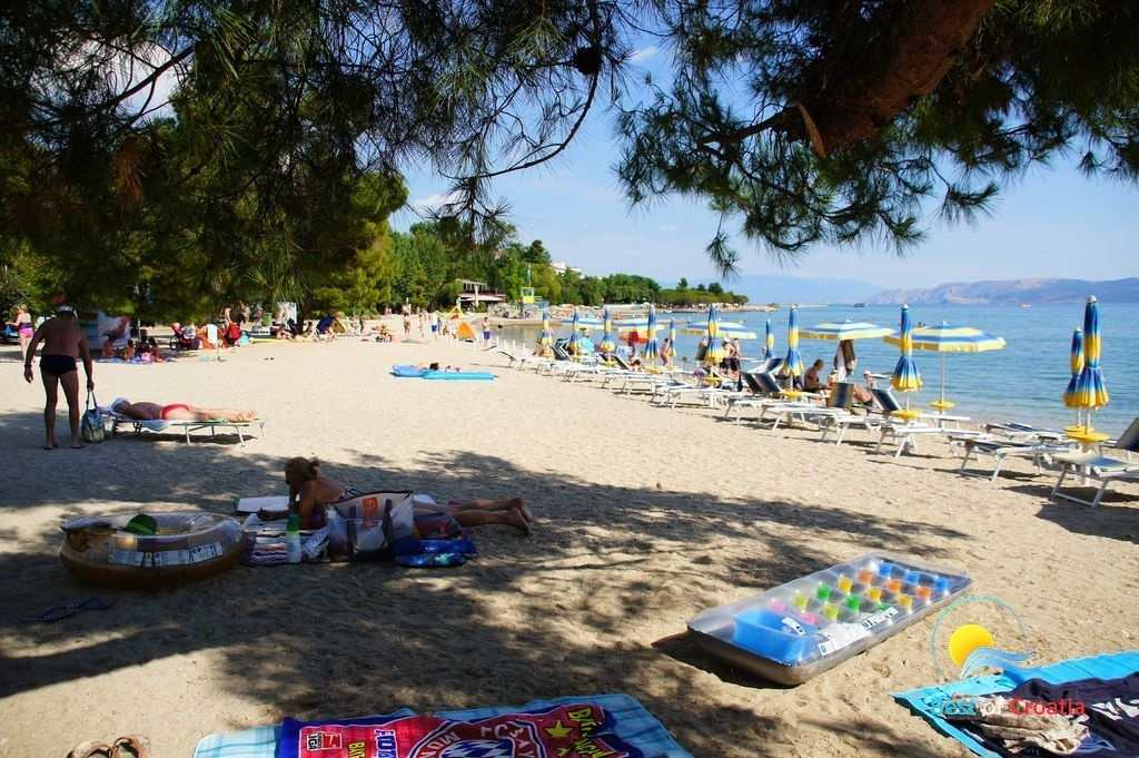 Пляж Crni Molo в Хорватии