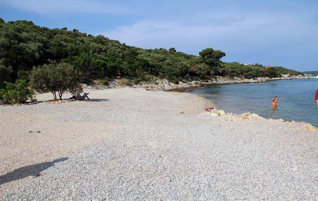 Пляж Mandrac острова Корчула