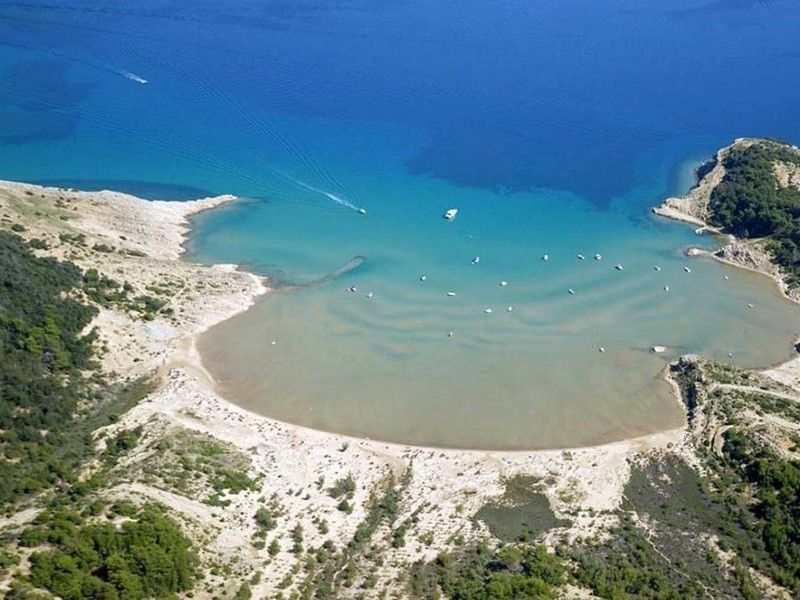 Пляж Сахара на острове Раб