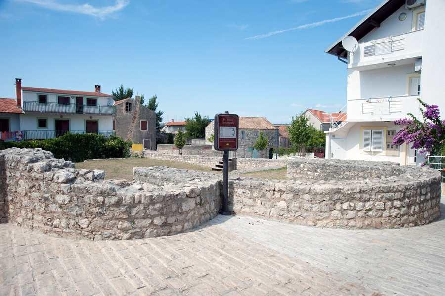Останки базилики св. Иоанна