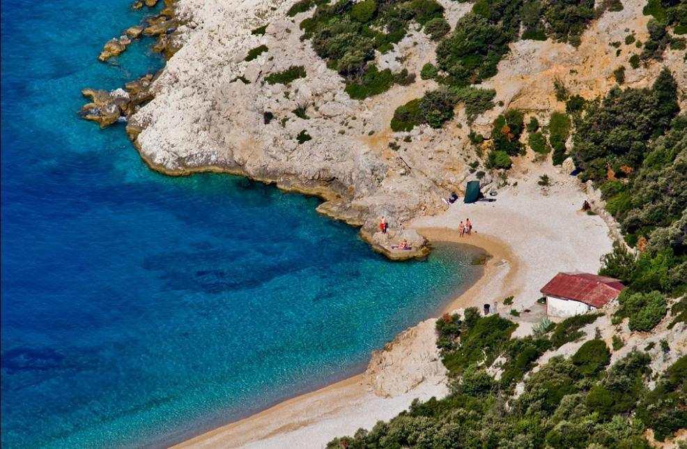 Пляж Св. Ивана на острове Црес