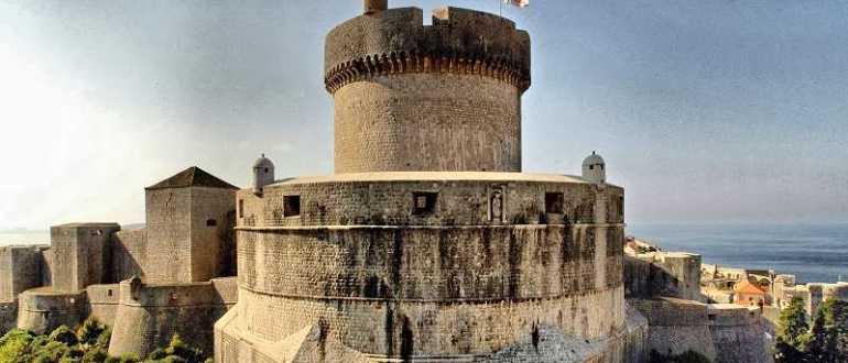 Башня Минчета в Дубровнике
