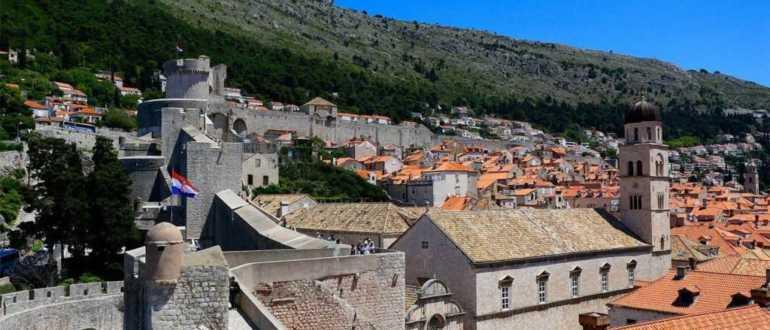 Крепости Бокар и Равелин в Дубровнике