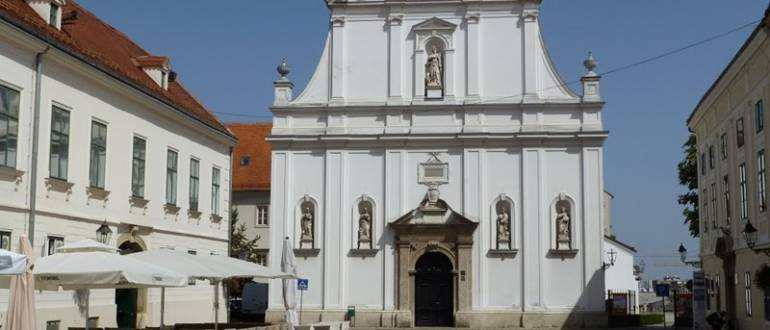 Церковь Святой Екатерины в Загребе