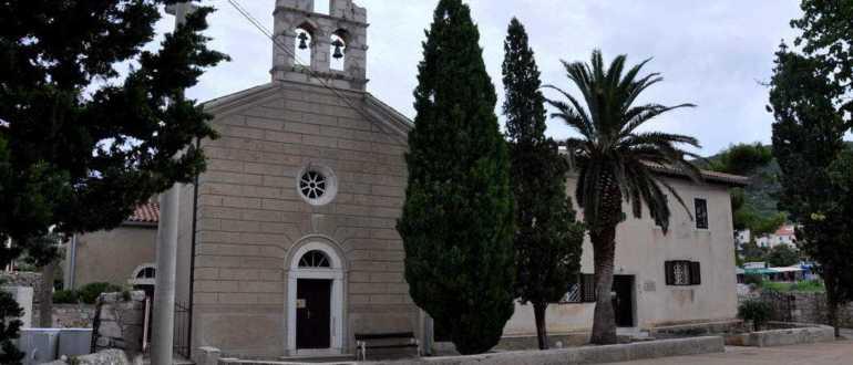 Церковь Святого Мартина на острове Лошинь