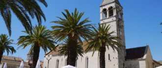 Церковь доминиканцев в Трогире