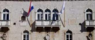 Неоготический дворец в Трогире