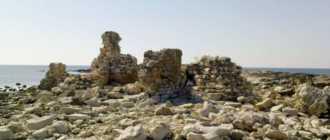 Останки Сипара возле города Умаг