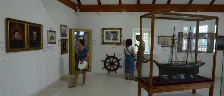Морской музей в Оребич