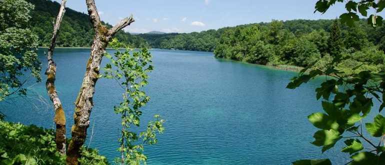 Озеро Козяк в Хорватии