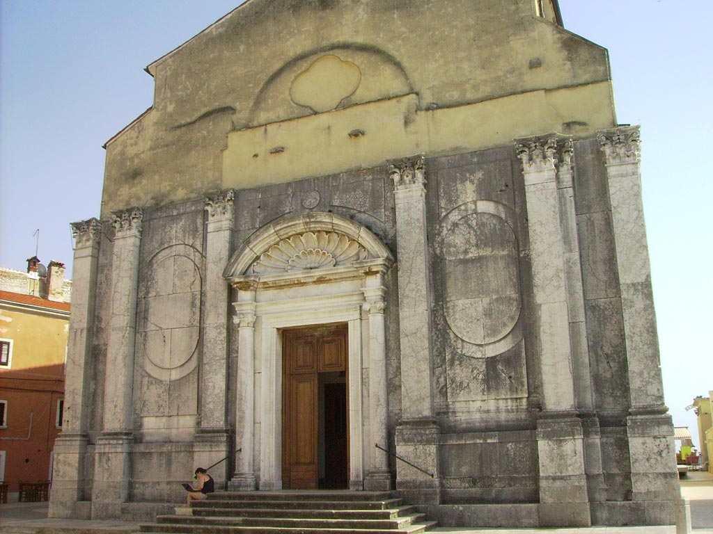 Церковь Святого Перегрина недалеко от Умага