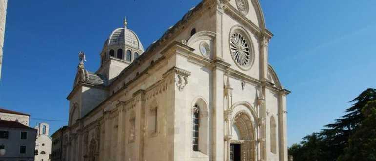 Кафедральный собор Св. Иакова в городе Шибеник