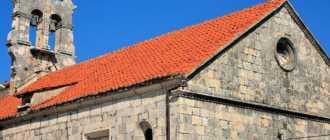 Церковь Всех Святых на острове Корчула