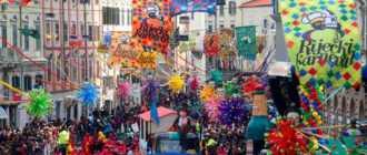 Зимний карнавал на острове Паг
