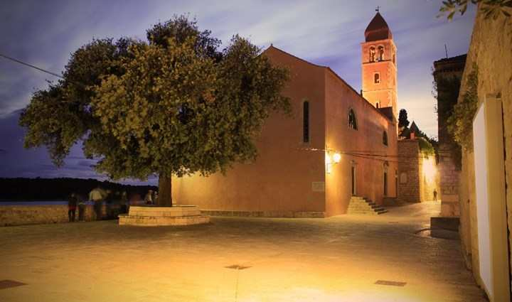 Храм Святой Юстины на острове Раб
