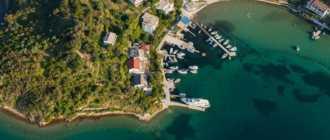 Деревня Супетарска Драга на острове Раб