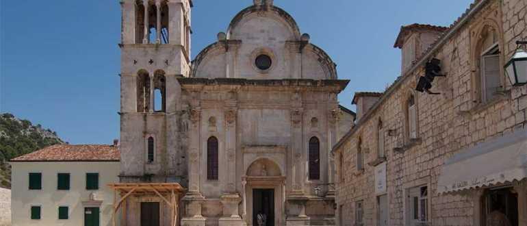 Кафедральный собор Святого Стефана в городе Хвар