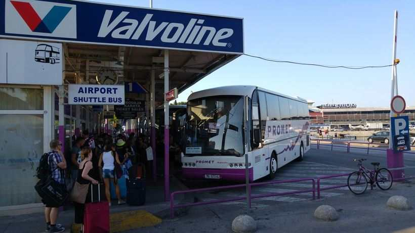 Автобусы в Опатии