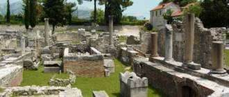 Древнеримские руины на острове Шолта