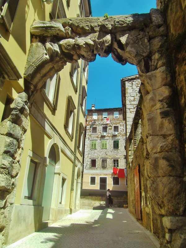 Старые ворота Риеки