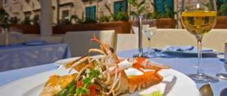 Рестораны и кафе в Дубровнике