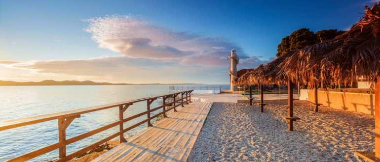 Пляжи в Задаре