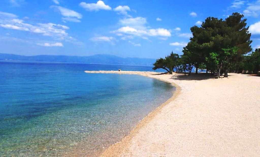 Пляжи острова Крк