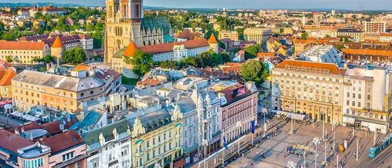 Отели в Загребе