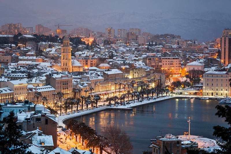Отдых в Хорватии в январе