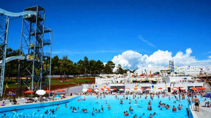 Топ-6 лучших аквапарков Хорватии