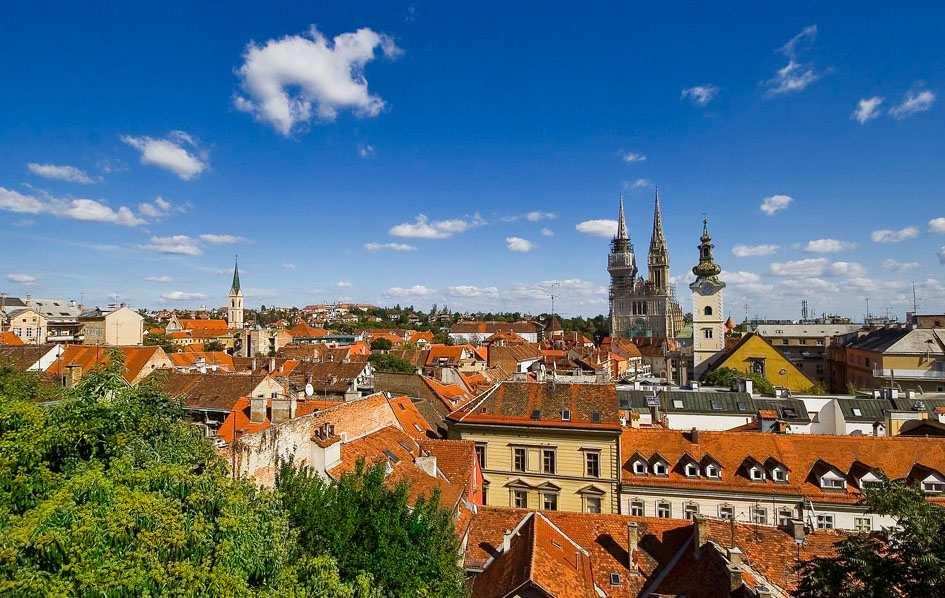 Загреб - восточный Париж