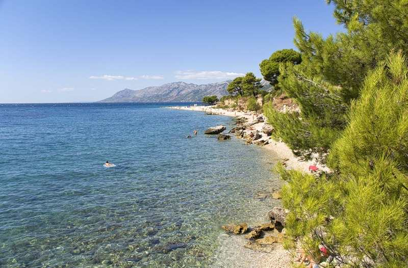 Температура морской воды в Хорватии
