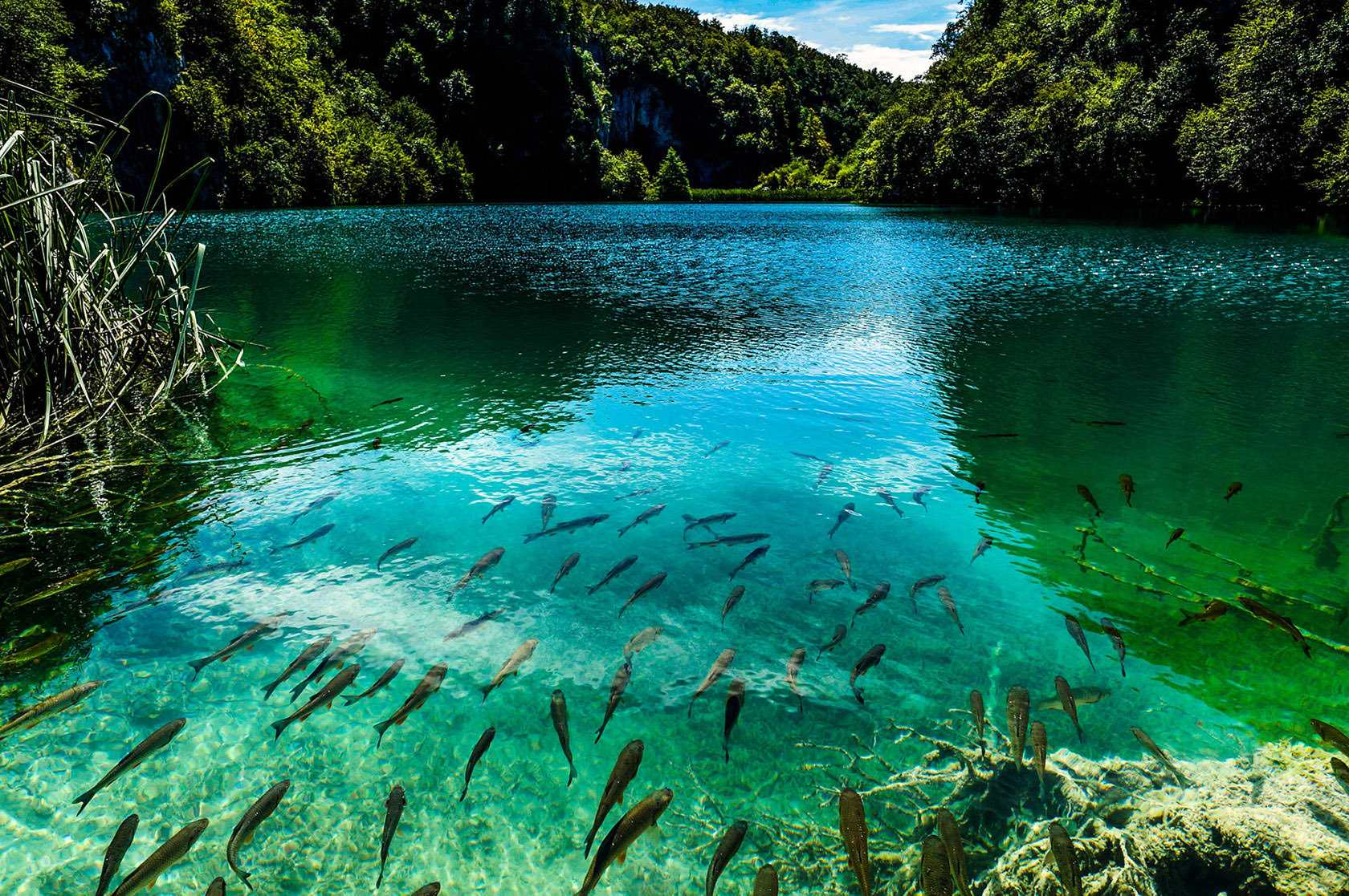 Озера в Хорватии