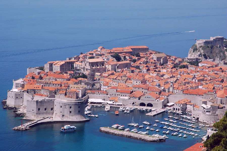 Дубровник Хорватия Городская крепость