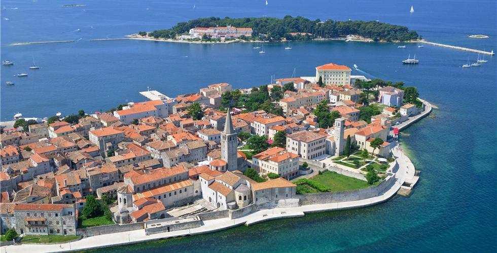 Пореч, Хорватия - центральная часть города