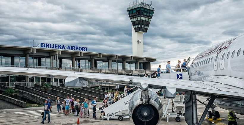 Аэропорт Риека в Хорватии