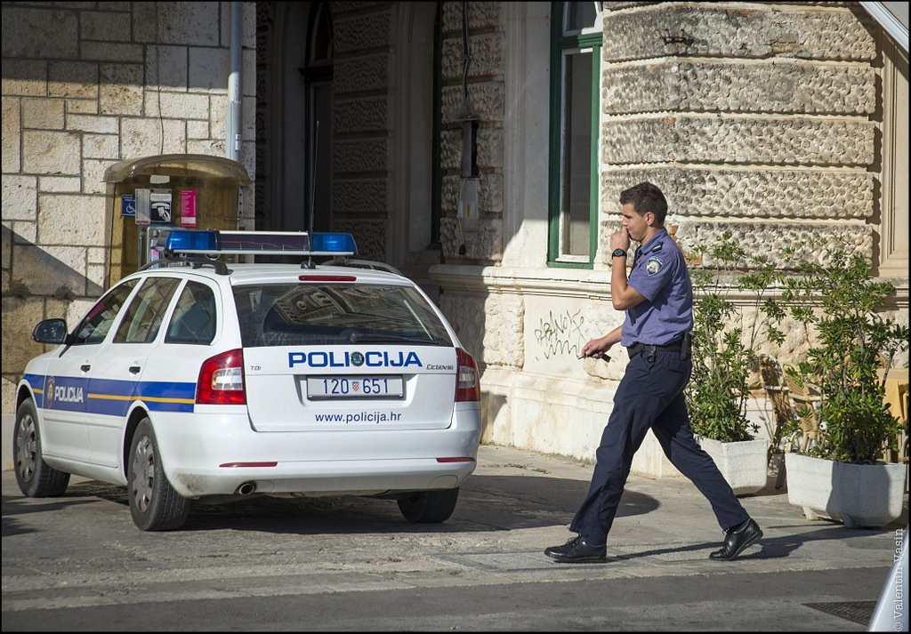 Полиция в Хорватии