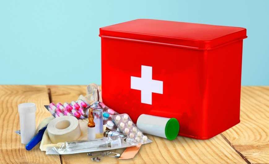 Аптечка в Хорватию