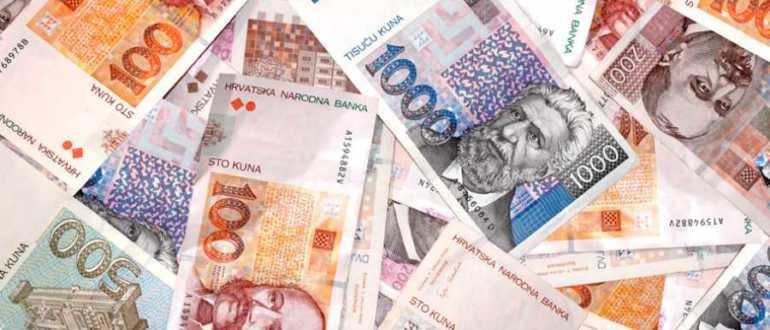 Обмен валют и банкоматы в Хорватии