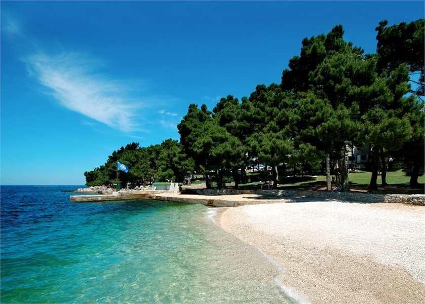 Пляжи в Поречи побережье