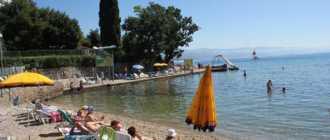 Пляж Tomasevac в Опатии