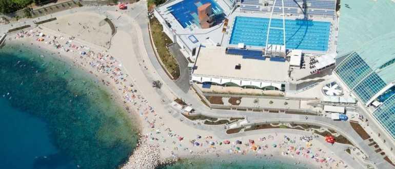 Пляж Плоче в Хорватии