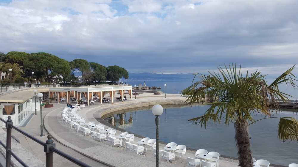 Пляж Лунгомаре в Опатии