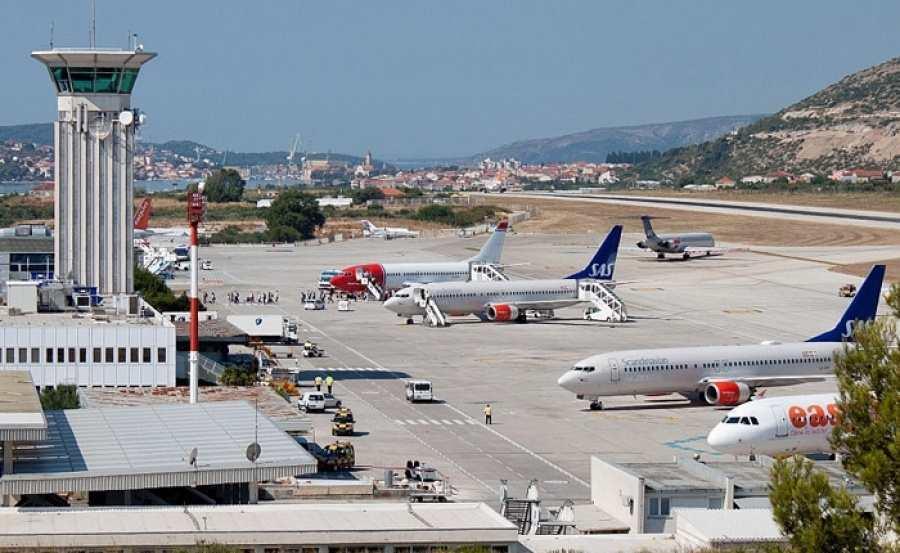 Аэропорт Сплит в Хорватии