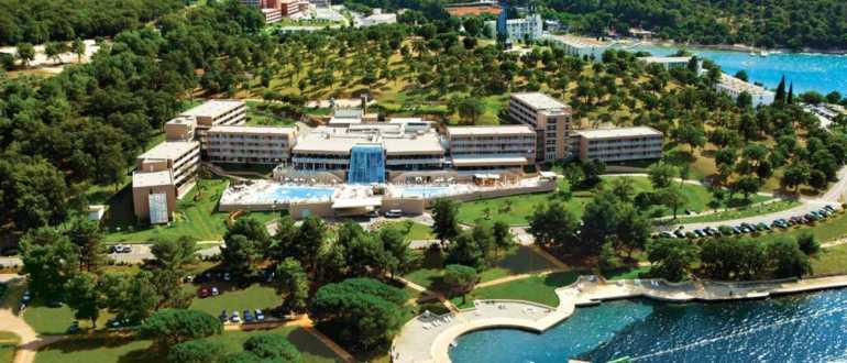 пляж отеля Molindrio в Порече