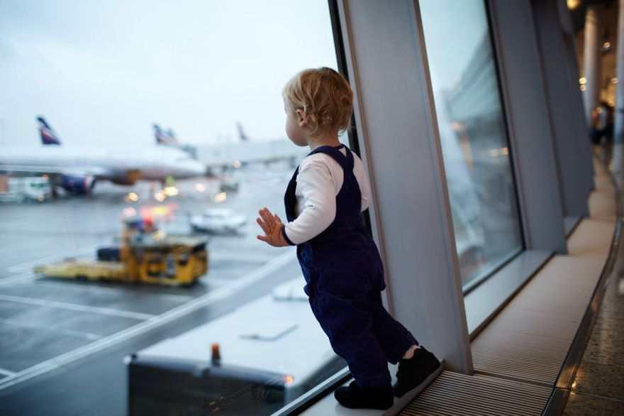 Ожидание рейса в аэропорту