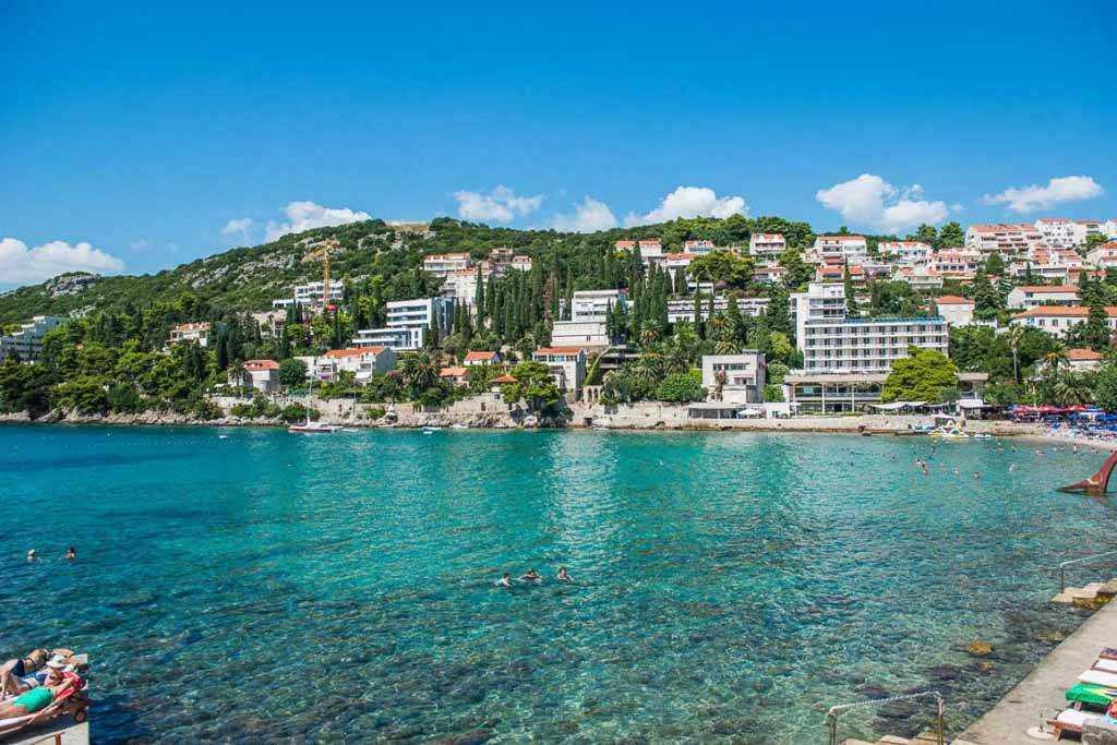 Лапад пляж Дубровник